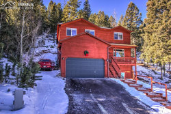 Photo of 1437 Crestview Way, Woodland Park, CO 80863 (MLS # 8349089)