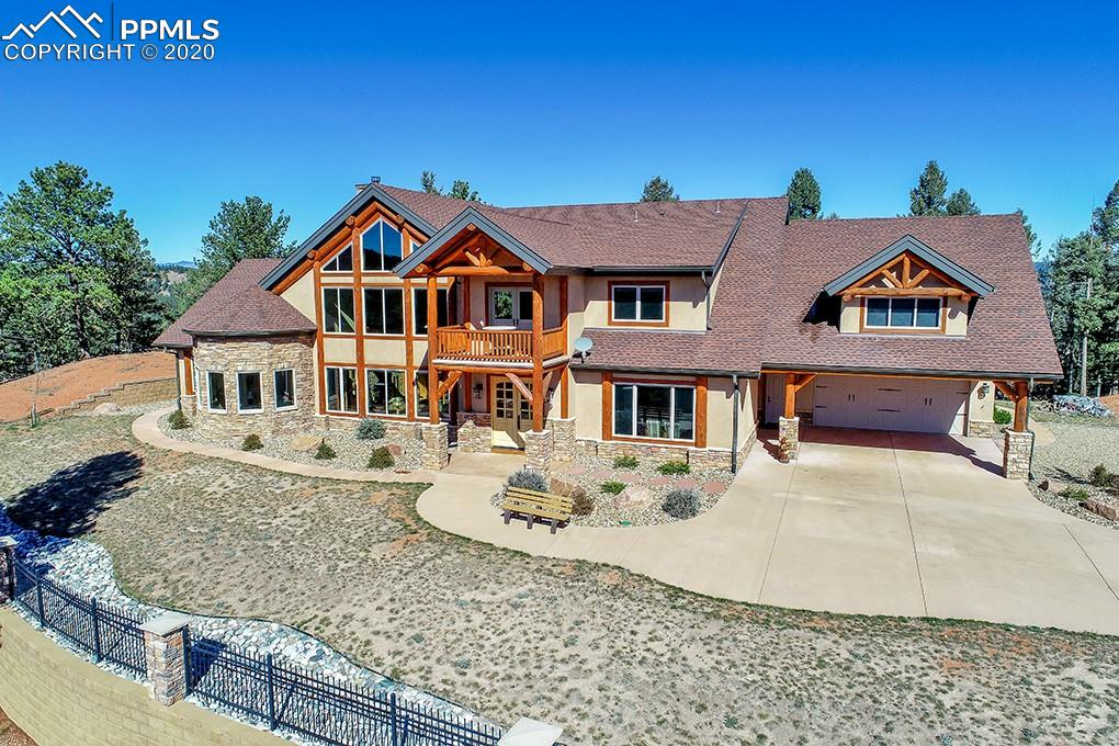 Photo for 684 Kylie Heights Heights, Woodland Park, CO 80863 (MLS # 8720840)