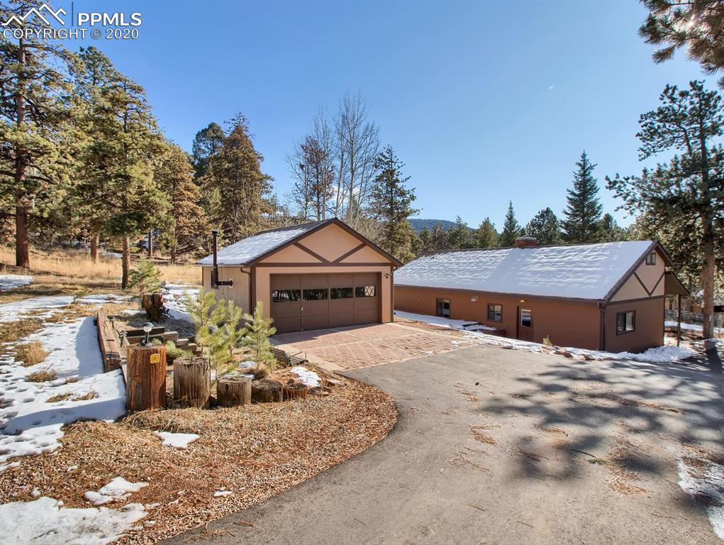 Photo for 197 W Ridge Drive, Woodland Park, CO 80863 (MLS # 9185417)