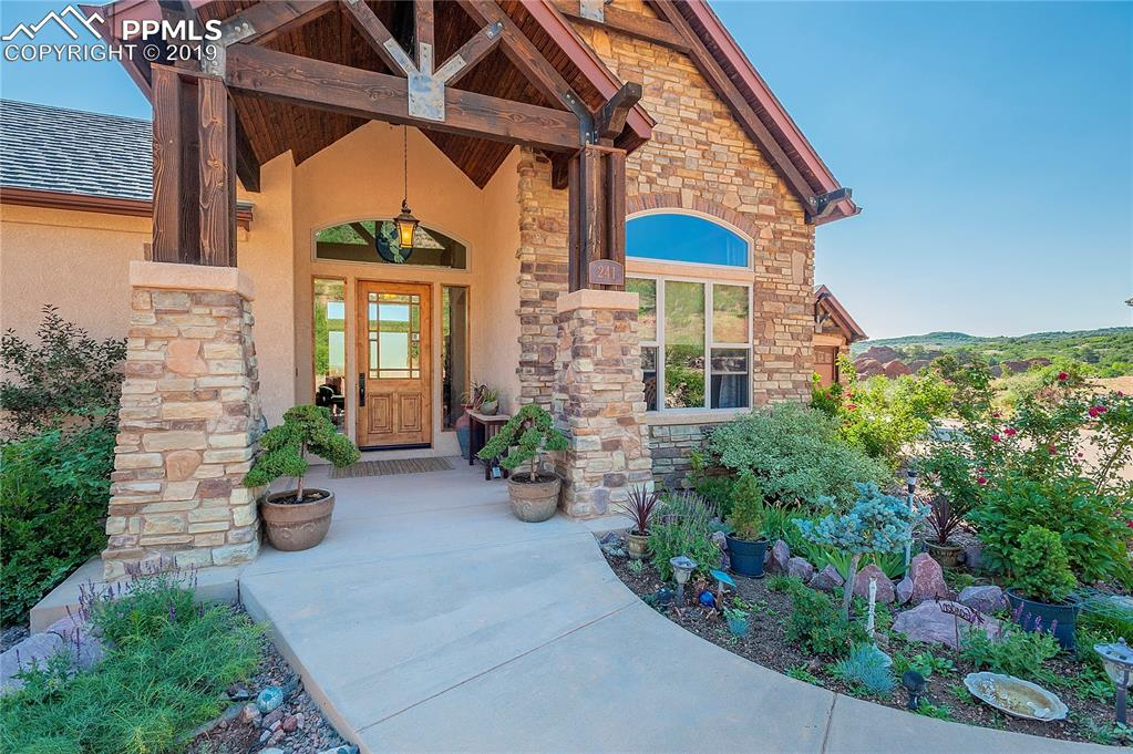 Photo for 241 Crystal Valley Road, Manitou Springs, CO 80829 (MLS # 9597652)