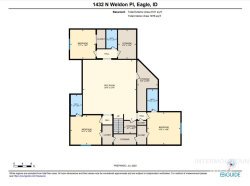 Tiny photo for 1432 N Weldon Pl, Eagle, ID 83616 (MLS # 98773230)