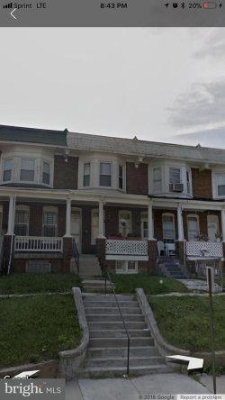 Photo of 3458 Park Heights AVENUE, Baltimore, MD 21215 (MLS # 1000176790)