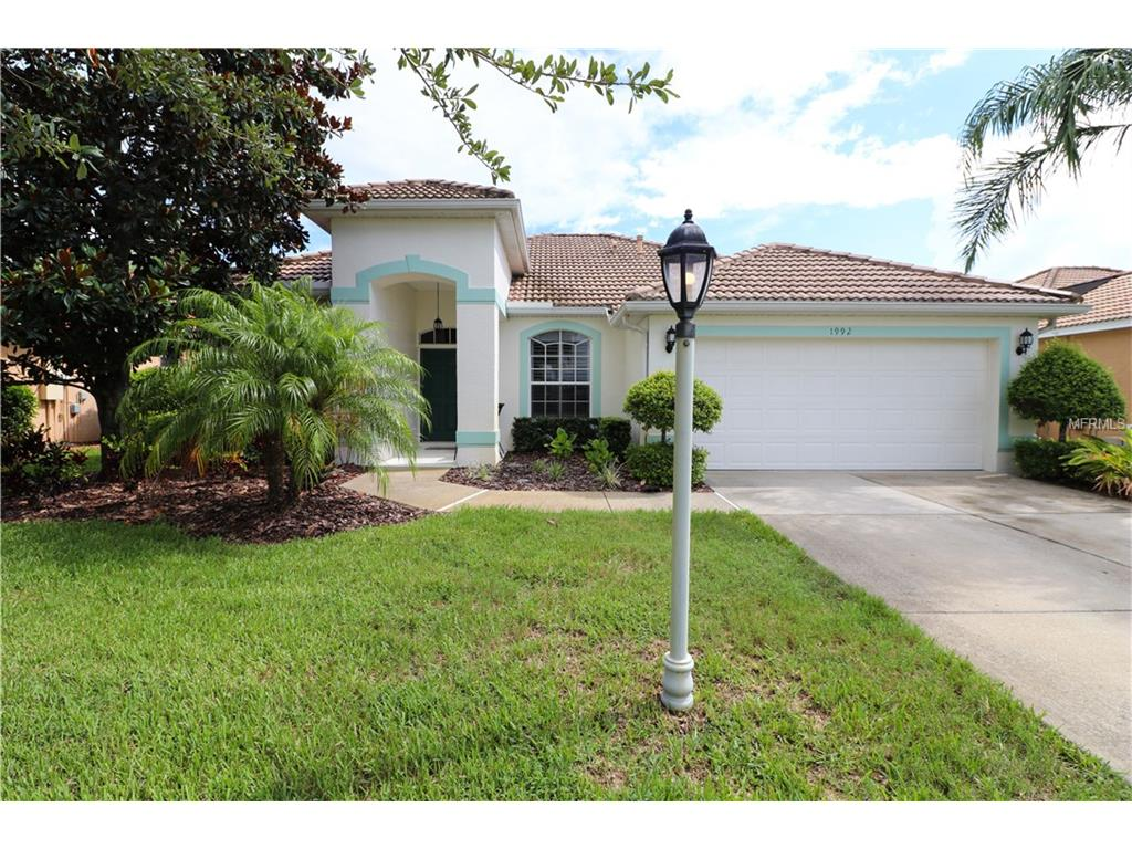 Photo for 1992 Coconut Palm Circle, NORTH PORT, FL 34288 (MLS # D5919186)