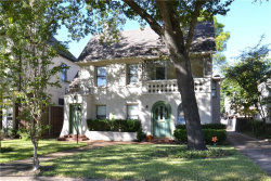 Photo of 4118 University, University Park, TX 75205 (MLS # 13725984)
