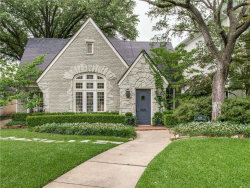 Photo of 4229 San Carlos Street, University Park, TX 75205 (MLS # 13783227)