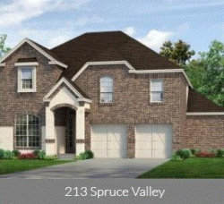Photo of 213 Spruce Valley Drive, Justin, TX 76247 (MLS # 14092605)