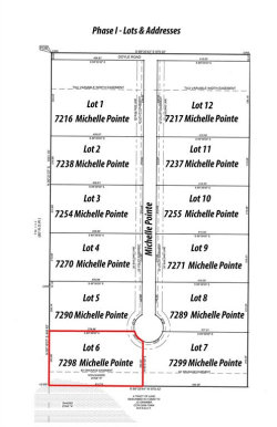 Photo of 7298 Michelle Pointe, Lot 6, Krum, TX 76249 (MLS # 14326797)