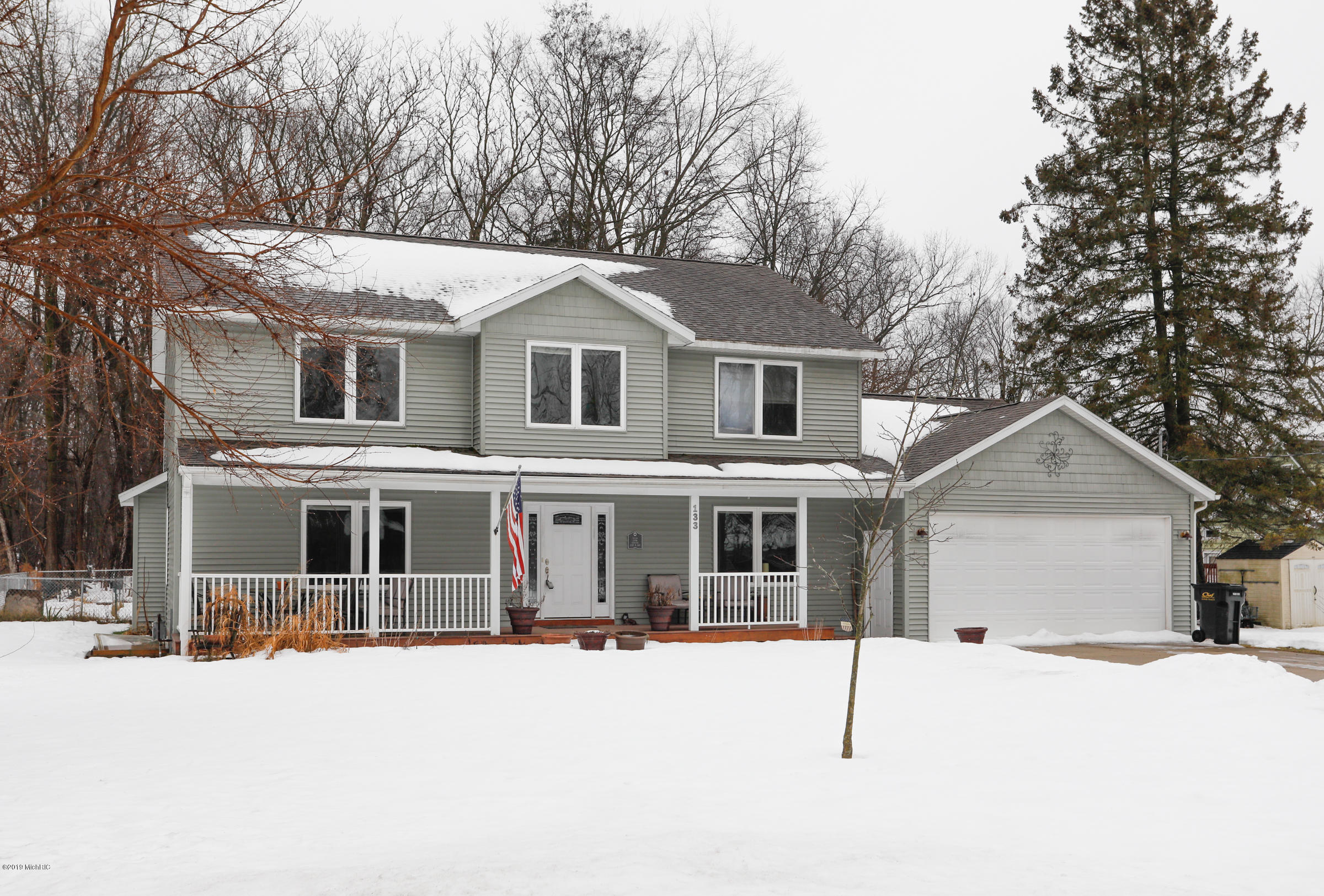 Photo for 133 Circle Drive, Allegan, MI 49010 (MLS # 19003020)
