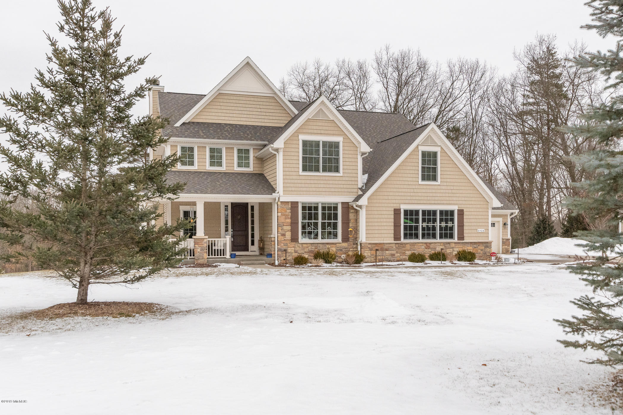 Photo for 8406 Barony Point, Mattawan, MI 49071 (MLS # 19007198)