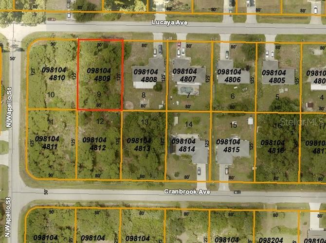Photo for LUCAYA AVE, NORTH PORT, FL 34286 (MLS # D6108657)