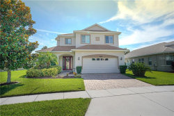 Photo of 8609 Eagle Brook Drive, LAND O LAKES, FL 34638 (MLS # O5868562)
