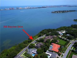 Photo of 205 Bayview Drive, BELLEAIR, FL 33756 (MLS # U7823417)
