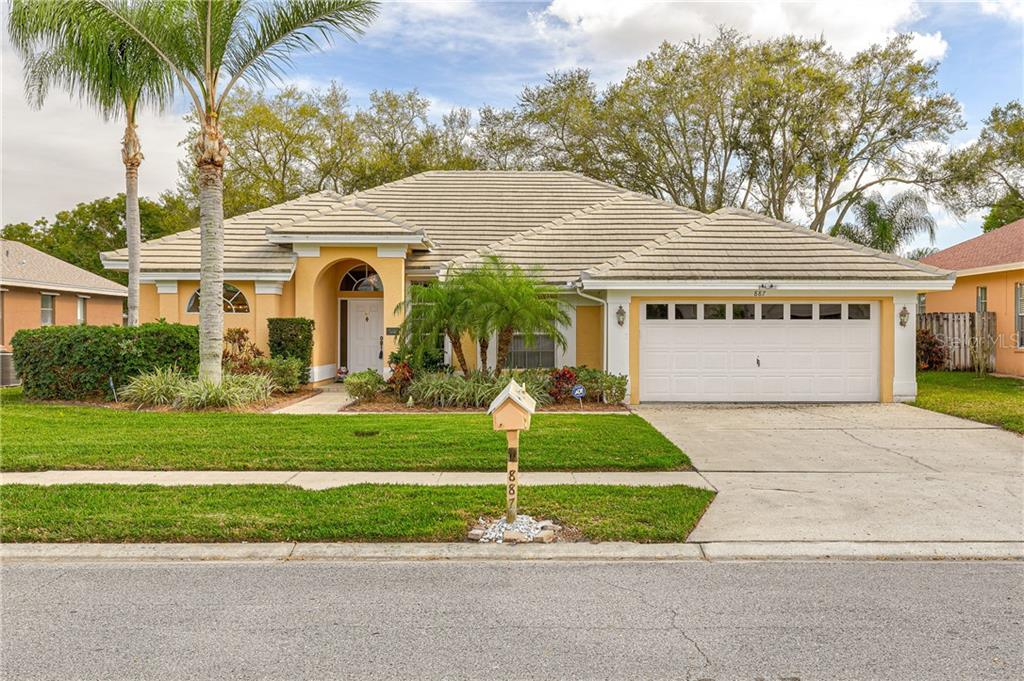 Photo for 887 Whippoorwill Drive, PALM HARBOR, FL 34683 (MLS # U8075749)