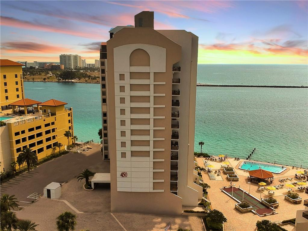 Photo for 450 S Gulfview Boulevard, Unit 701, CLEARWATER, FL 33767 (MLS # U8078843)