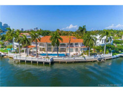 Photo of 154 South Island, Golden Beach, FL 33160 (MLS # A10274284)