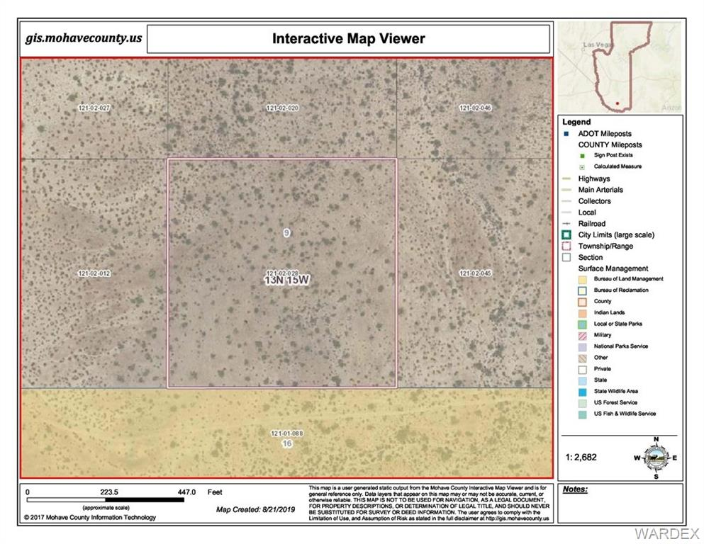 Photo for Lot 28 Off Mccracken Mine Road, Yucca, AZ 86438 (MLS # 961195)