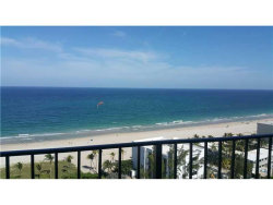 Photo of 4900 North Ocean Blvd, Unit 1619, Lauderdale By The Sea, FL 33308 (MLS # A10129500)