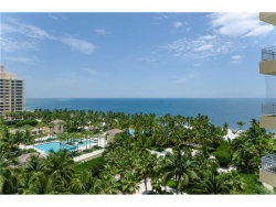 Photo of 799 Crandon Bl, Unit 1005, Key Biscayne, FL 33149 (MLS # A10163986)