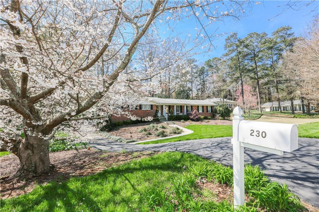 Photo for 230 Forrest Lake Drive, Atlanta, GA 30327 (MLS # 5977128)