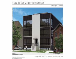 Photo of 1122 W Chestnut Street, Unit Number 1W, CHICAGO, IL 60642 (MLS # 09829988)