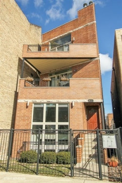 Photo of 1655 N Campbell Avenue, Unit Number 1, CHICAGO, IL 60647 (MLS # 09888349)