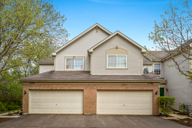 Photo for 248 Southwicke Drive, Unit Number A, STREAMWOOD, IL 60107 (MLS # 09952431)