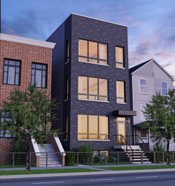 Photo of 2302 N Hoyne Avenue, Unit Number 3, CHICAGO, IL 60647 (MLS # 09953665)