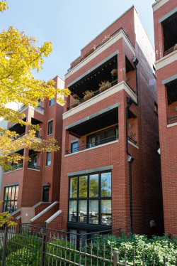Photo of 1463 W Grand Avenue, Unit Number 4, CHICAGO, IL 60642 (MLS # 10088071)