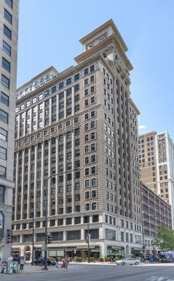 Photo of 6 N Michigan Avenue, Unit Number 1804, CHICAGO, IL 60602 (MLS # 10426347)