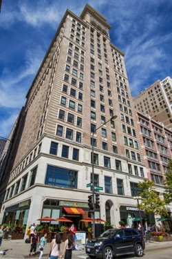 Photo of 6 N Michigan Avenue, Unit Number 1601, CHICAGO, IL 60602 (MLS # 10479589)