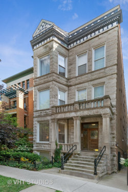 Photo of 643 W Melrose Street, Unit Number 1, CHICAGO, IL 60657 (MLS # 10520931)