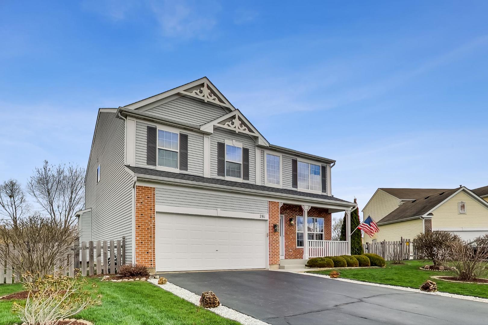 Photo for 281 Clover Chase Circle, Woodstock, IL 60098 (MLS # 10638087)