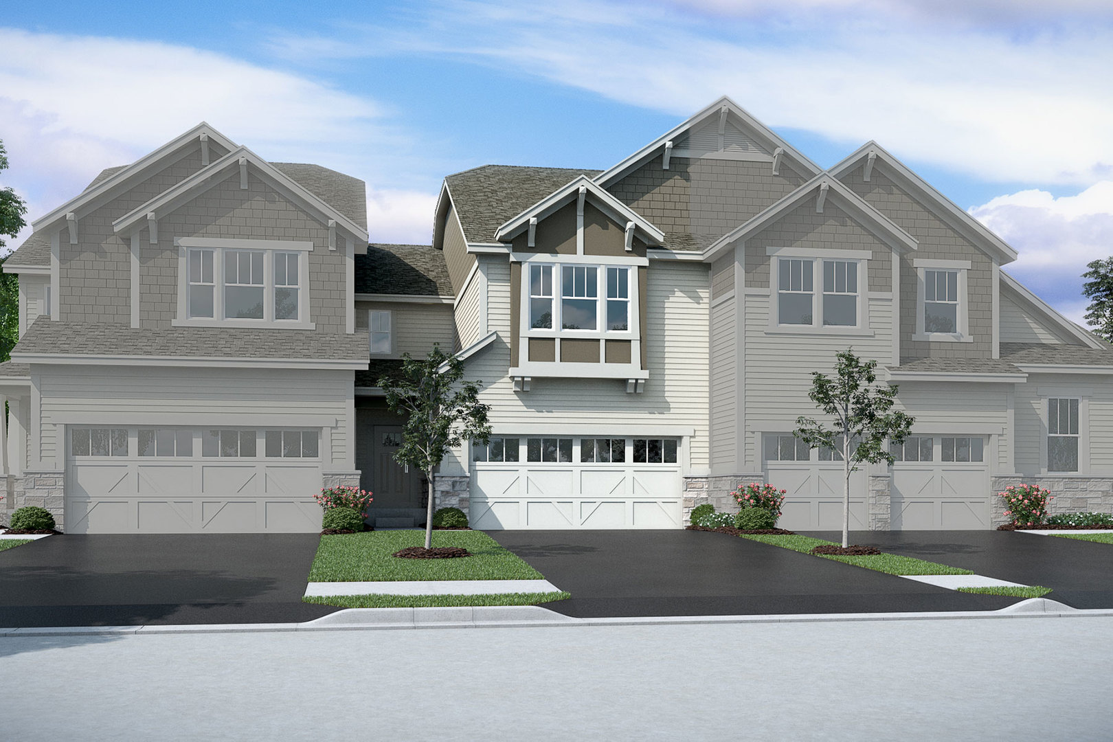 Photo for 511 Pershing - Lot #15.02 Court, Barrington, IL 60010 (MLS # 10673552)