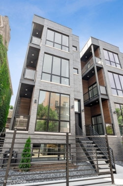 Photo of 1537 W Pearson Street, Unit Number 1, Chicago, IL 60642 (MLS # 10758196)