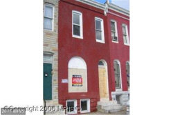 Photo of 1832 FRANKLIN ST, Baltimore, MD 21223 (MLS # BA10065475)