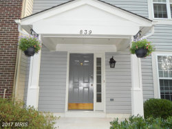 Photo of 839 WATERFORD DR, Frederick, MD 21702 (MLS # FR10081618)