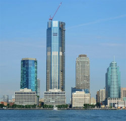 Photo of 99 HUDSON ST, Unit PH7502, Jersey City, NJ 07302 (MLS # 202005198)